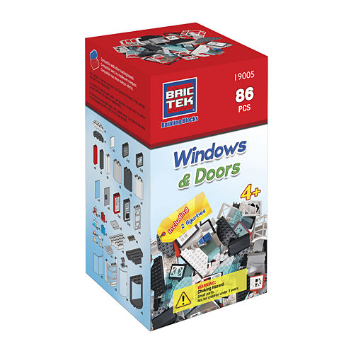 BricTek Doors & Windows Building Set