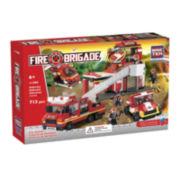 BricTek Fire Station Building Set with Sound & Light