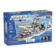 BricTek Frigate Building Set