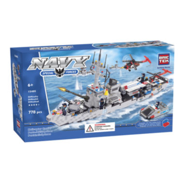 jcpenney.com | BrikTek Helicopter Carrier Building Set