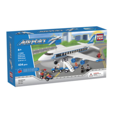 jcpenney.com | BricTek Airplane Building Set