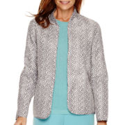 Alfred Dunner® Crystal Springs Reversible Jacket