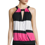 Bisou Bisou® Banded Bubble Top