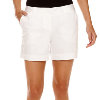 jcpenney.com | Worthington® Sateen Shorts
