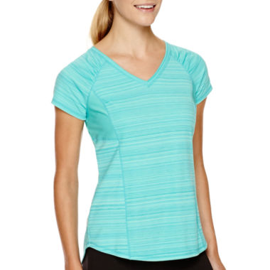 jcpenney.com | Xersion™ Short-Sleeve Mesh-Inset Performance T-Shirt - Tall