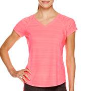 Xersion™ Mesh Inset Short-Sleeve T-Shirt - Tall