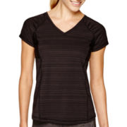 Xersion™ Short-Sleeve Mesh-Inset Performance T-Shirt - Tall