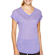 Xersion™ Studio Short-Sleeve Dolman T-Shirt