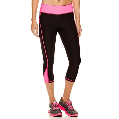 Xersion™ Colorblock Inset Capri Leggings