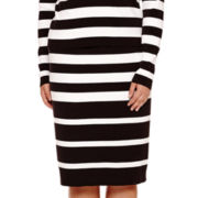 BELLE + SKY™ Striped Bodycon Skirt