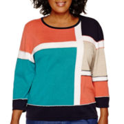 Alfred Dunner® Colorblock Sweater