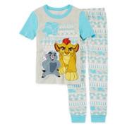 Disney Lion King 2-Pc. Short-Sleeve Pajama Set