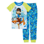 Disney Miles 2-Pc. Pajama Set - Boys 2-8