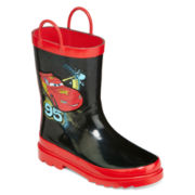 Disney Collection Cars Rain Boots - Boys
