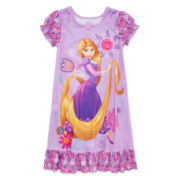 Disney Collection Rapunzel Short-Sleeve Nightshirt