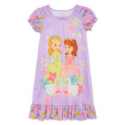 Disney Collection Sofia the First Nightgown - Girls 2-8