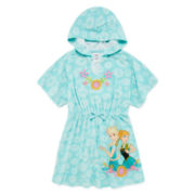 Disney Collection Frozen Cover-Up - Girls 2-10