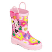 Disney Collection Minnie Mouse Rain Boots - Girls