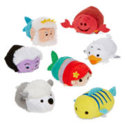Disney Collection Little Mermaid Small Tsum Tsum Plush Toys