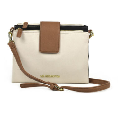 jcpenney.com | Liz Claiborne® Double Top-Zip Crossbody Bag