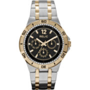 Relic® Mens Two-Tone Multifunction Watch