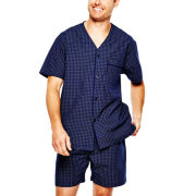 Stafford® Short-Sleeve Pajama Set
