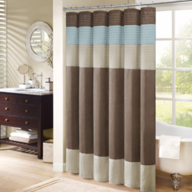 jcpenney.com | Madison Park Trinity Pleated Shower Curtain