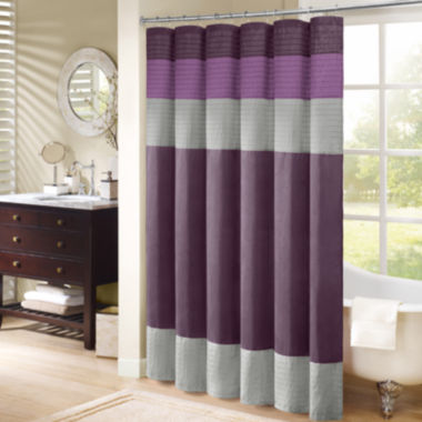 jcpenney.com | Madison Park Florence Pleated Shower Curtain