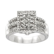 CLOSEOUT! 1 CT. T.W. Diamond Bridal Ring