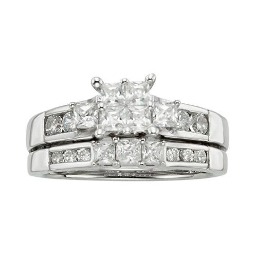 1⅛ CT. T.W. Diamond Bridal Set