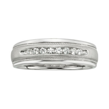 jcpenney.com | ¼ CT. T.W. Men's Diamond Band