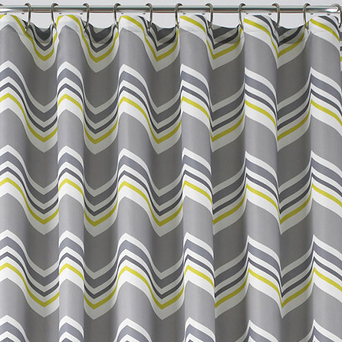 Studio Suite Chevron Shower Curtain