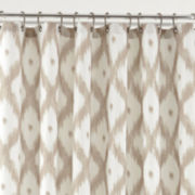 jcp EVERYDAY™ Ikat Diamond Shower Curtain