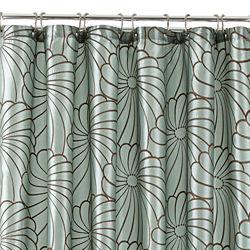 Royal Velvet® Olivia Embroidered Shower Curtain
