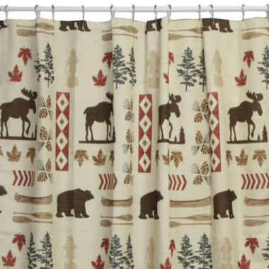 jcpenney.com | Bacova North Ridge Shower Curtain