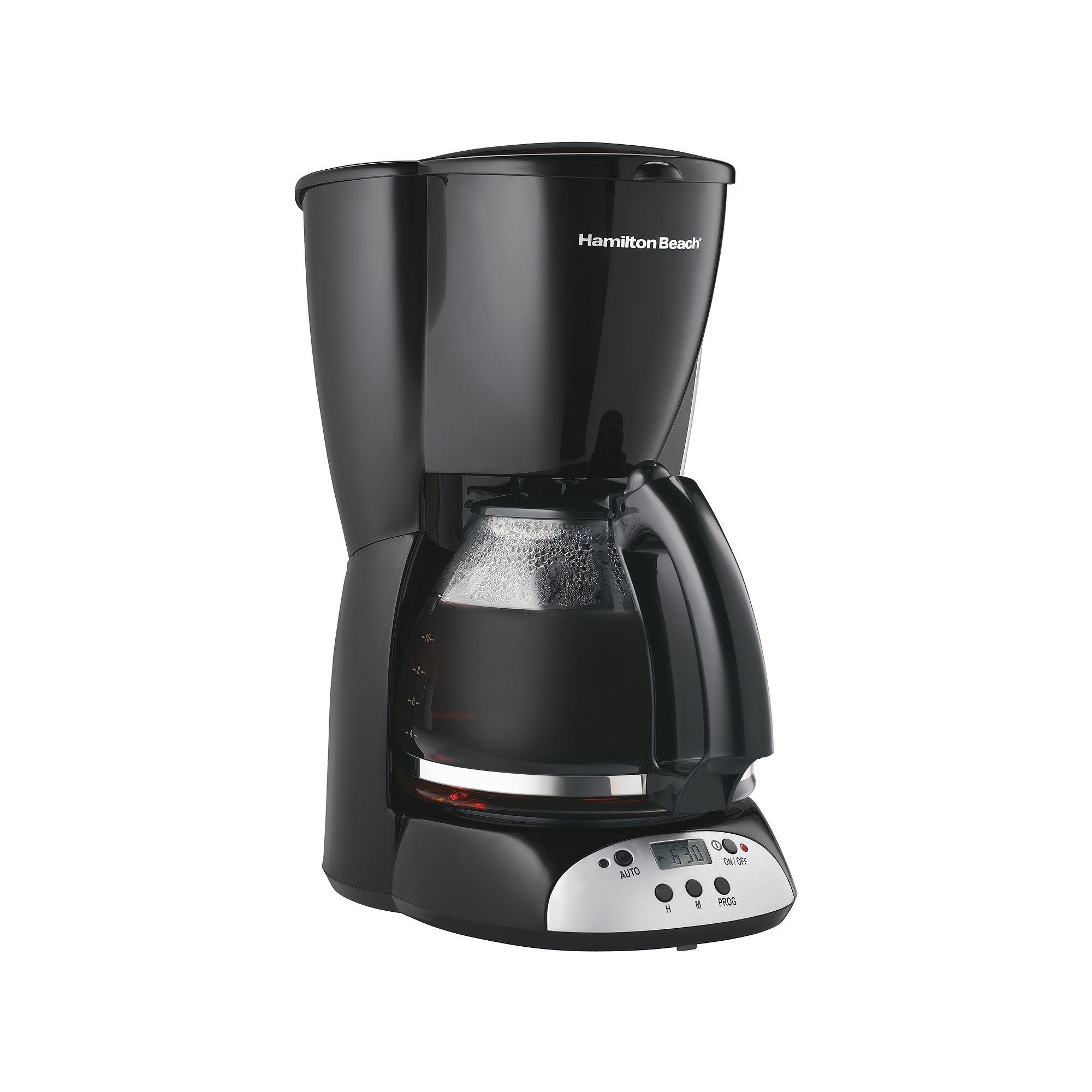 Programmable Coffee Maker Cone Filter : Hamilton beach 47686 brewstation plus 12 cup coffee maker with three modes - Find it at Shopwiki