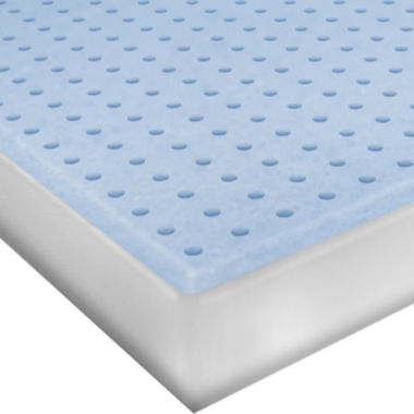 "jcpenney.com | SensorPEDIC® Classic 2"" Ventilated Memory Foam Mattress Topper"