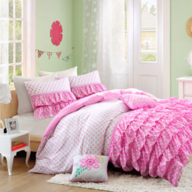 Mi Zone Morgan Comforter Set + BONUS Decorative Pillows