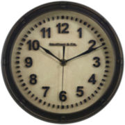 FirsTime® Raised Station Wall Clock
