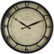 FirsTime® Kensington Whisper Wall Clock