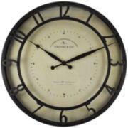 FirsTime® Kensington Whisper Wall Clock