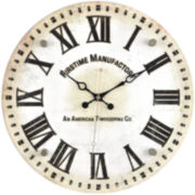 FirsTime® Clarity Wall Clock