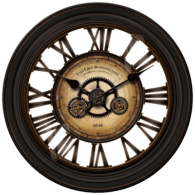 jcpenney.com | FirsTime® GearWorks Wall Clock