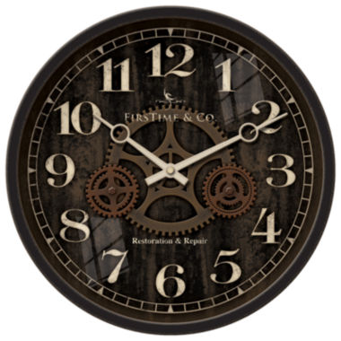 jcpenney.com | FirsTime® Industrial Gears Wall Clock
