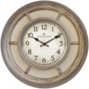 FirsTime® Weathered Linen Wall Clock