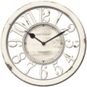 FirsTime® Antique Contour Wall Clock