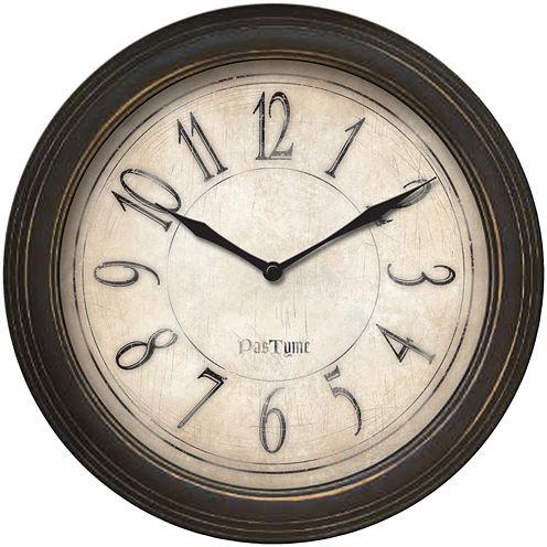 FirsTime® Distressed Bronze Wall Clock
