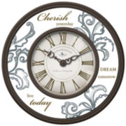 FirsTime® Cherish Wall Clock