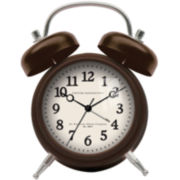 FirsTime® Tanner Alarm Wall Clock