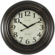 FirsTime® Oxford Station Wall Clock